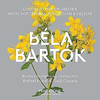 Bartok / Kubelik / Ozawa - Concerto for Orchestra & Music for Strings [SACD] USA import