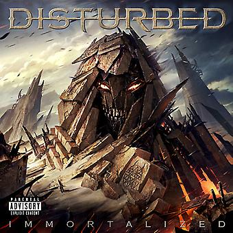 Disturbed - Immortalized (Deluxe)(Explicit) [CD] USA import