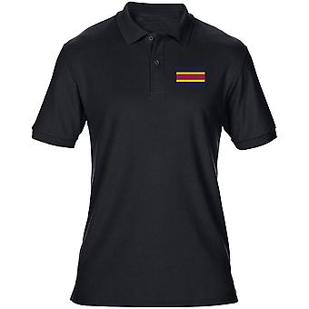 Army Veterinary Corps broderet TRF Logo - officielle britiske hær Herre Polo Shirt