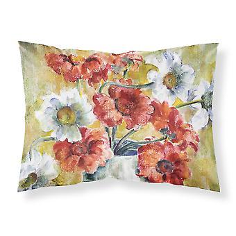 Flowers by Fiona Goldbacher Fabric Standard Pillowcase