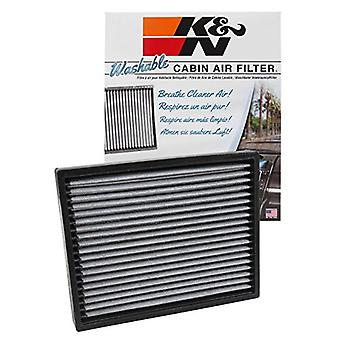 K&N VF2041 Washable & Reusable Cabin Air Filter Cleans and Freshens Incoming Air for your Ford, Lincoln, Mercury