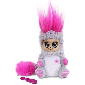 Bush Baby wereld Shimmies zacht stuk speelgoed - Pink lady Lu Lu