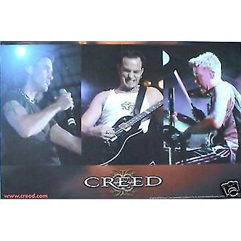 Creed Human Clay Poster