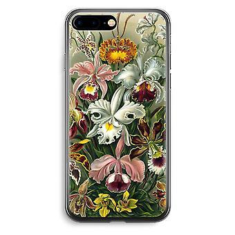 iPhone 7 Plus transparant Case (Soft) - Haeckel Orchidae