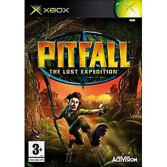Pitfall The Lost Expedition (Xbox)-fabriek verzegeld