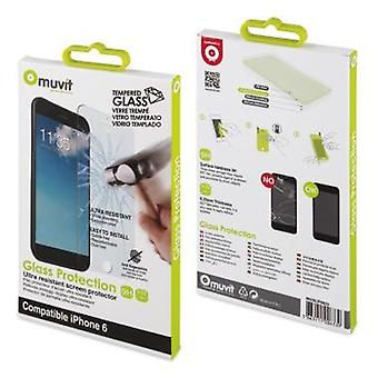 Muvit tempered glass H9 display protection film 0, 33 mm for Apple iPhone 6 / 6s