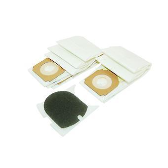 Hoover høj filtrering vakuum tasker (H59) - 5 Pack