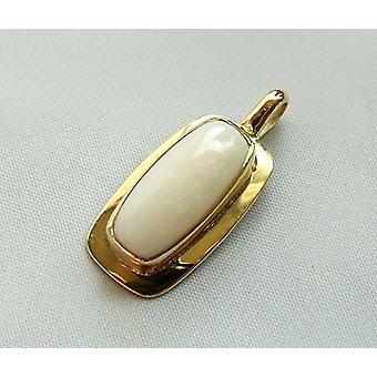 Ouro pingente opala