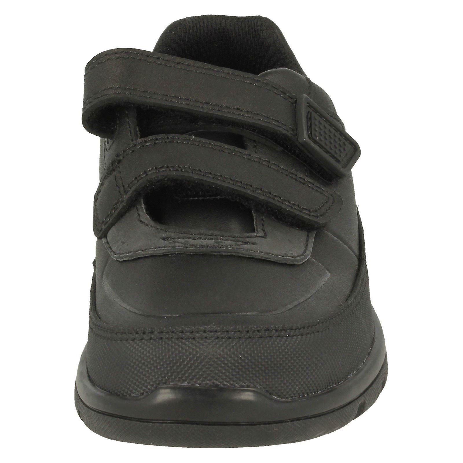Clarks Boys Hook /& Loop School Shoes /'Venture Walk/'