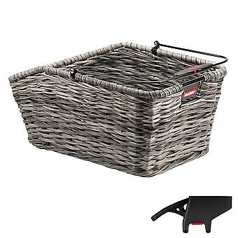 KLICKfix STRUCTURA GT rear wheel basket with KorbKlip