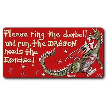Något annat vänligen Ring dörrklockan magneten