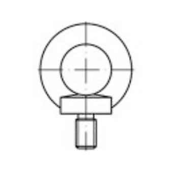 TOOLCRAFT 1061333 Śruba oczkowa M8 DIN 580 ze stali nierdzewnej A2 1 szt.