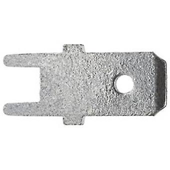 Klauke 2030 Klinge Connector PCB-SMD Stecker Breite: 6,3 mm Stecker Stärke: 0,8 mm 180° nicht isoliert Metall 1 PC