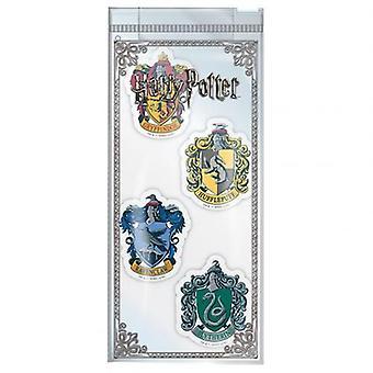 Harry Potter 4pk Eraser Set