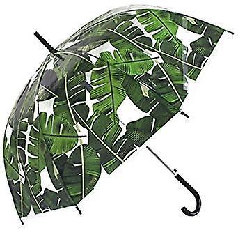 Straight Clear Umbrella (Palm leaf Scarse)