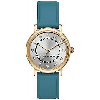 Marc Jacobs Womens Marc Jacobs Classic Teal Leatherr MJ1633 Watch