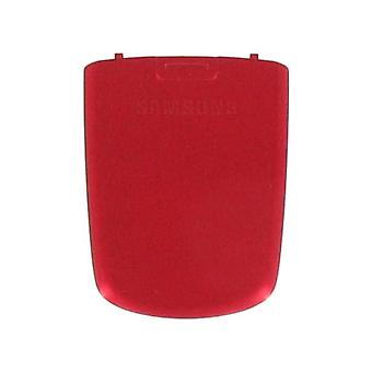 OEM Samsung SGH-C417 Battery Door/Cover - Red