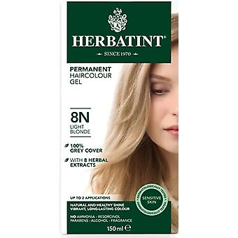 Herbatint, Light Blonde Hair Colour 8N, 150ml