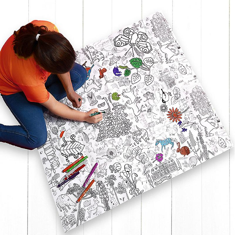 Giant Poster / Tablecloth  – Countryside