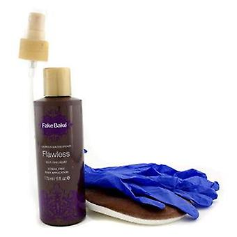 Fake Bake Flawless Self-tan Liquid & Mitt Profesional - 170ml/6oz