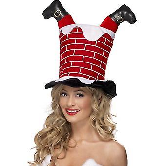 Santa di Smiffy bloccato nella canna fumaria Cappello