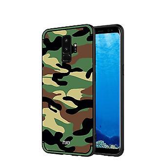NXE Samsung Galaxy S9 Plus TPU shell-Camouflage green