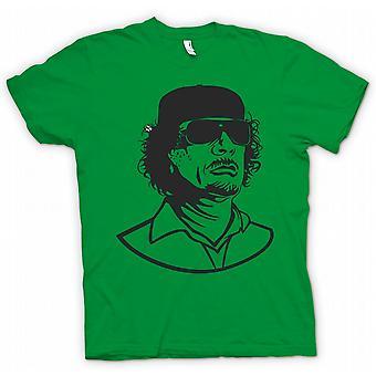 Koszulka męska - Kadafi - libijski dyktator portret