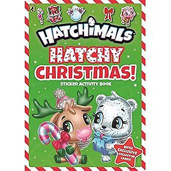 Hatchimals: Hatchy Weihnachten! Aufkleber-Aufgabenbuch (Hatchimals)
