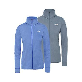 De North Face Ladies Quest Full Zip Fleece Jacket.
