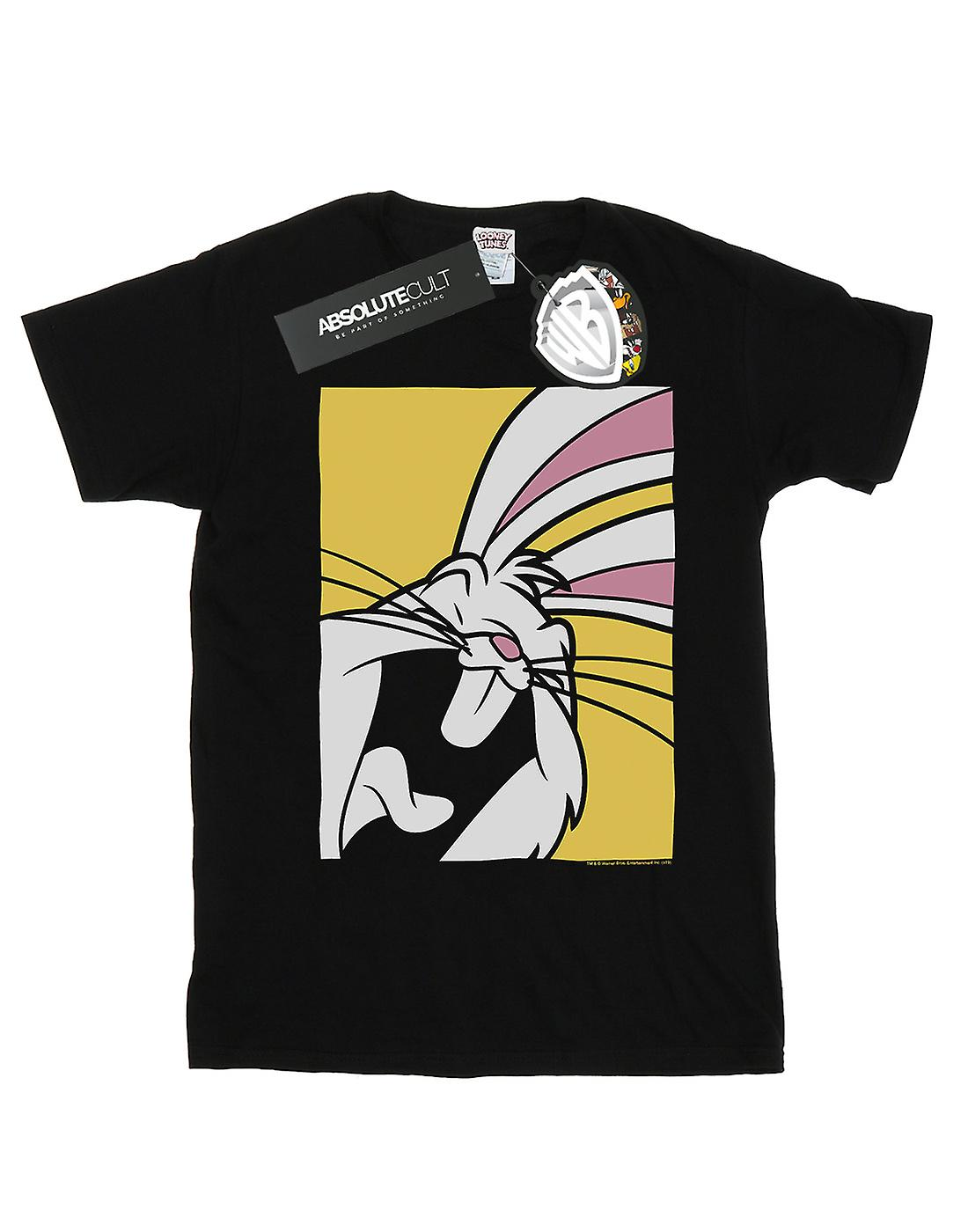 Looney Tunes Women's Bugs Bunny Laughing Boyfriend Fit T-Shirt