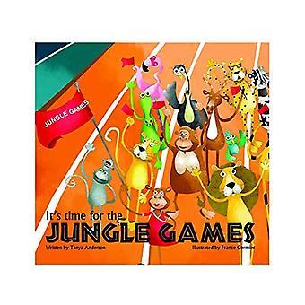 È tempo per i giochi di Jungle: storia libro