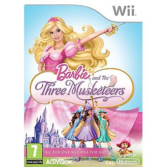 Barbie and the Three Musketeers (Wii) - As New