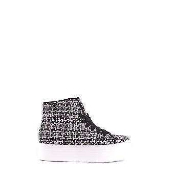 Jeffrey Campbell Ezbc132034 Women's Black Fabric Hi Top Sneakers