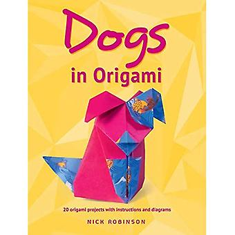 Honden in Origami