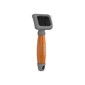 Wahl Gel Handle Stainless Steel Bristle Pet Brush