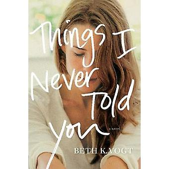 Things I Never Told You by Beth Vogt - 9781496427243 Book