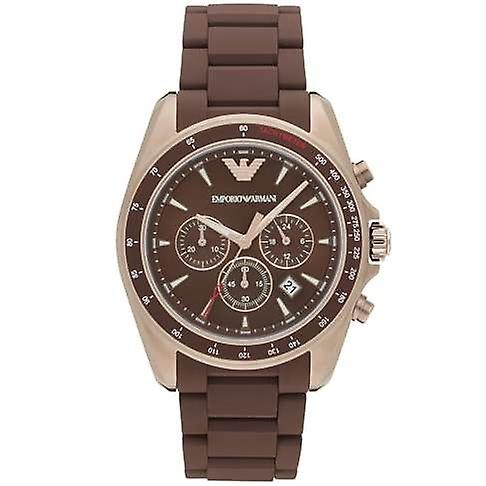 Emporio Armani Ar6099 Sigma Brown Dial Men's Watch