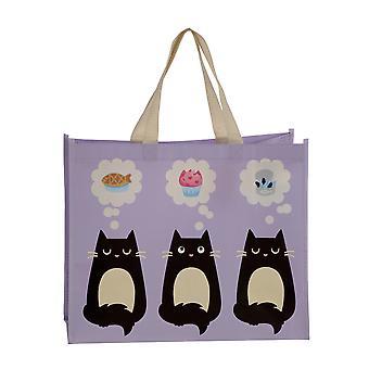 Puckator Feline Fine Cat boodschappentas
