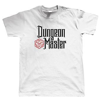 Dungeon Master, Herre T-shirt-hobbies Geek DND Dungeons Dragons gave ham