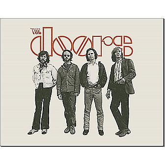 The Doors When You're Strange metal wall sign 410mm x 300mm  (de)