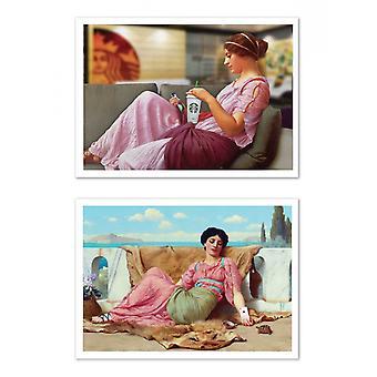 2 Konst-Affischer - Klassisk x Modernity - Jose Guerrero