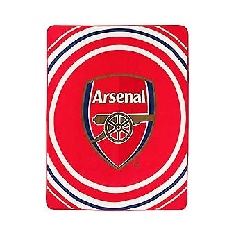 Arsenal FC Pulse fleece filt