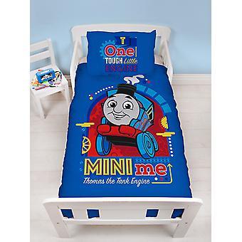 Thomas & vänner Minis 4 i 1 Junior sängkläder bunt set (täcke, kudde