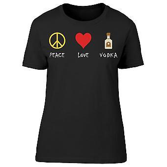 Fred kärlek vodka tee kvinnor ' s-bild av Shutterstock