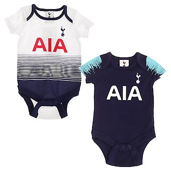 Tottenham Hotspur Baby Body Suits Pack Of 2