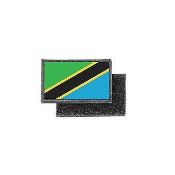 Patch ecusson prints Tanzanian flag badge