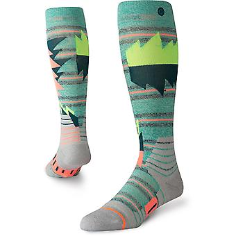 Stance Oscillate Snow Socks in Teal