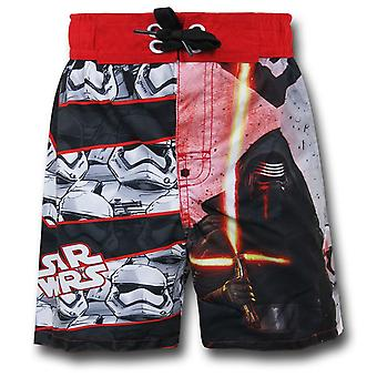 Star Wars Force Awakens Kylo Ren Kids Swim Trunks