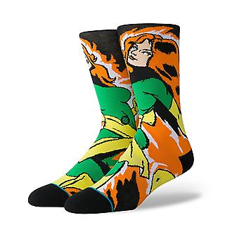 Stance Xmen Jean Grey Crew Socks in Black