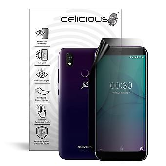 Celicious Privacy Lite 2-Way Anti-Glare Anti-Spy Filter Screen Protector Film Compatible with Allview P10 Max